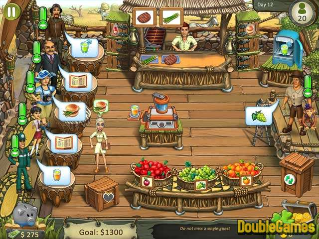 Free Download Katy & Bob: Safari Café Sammleredition Screenshot 1