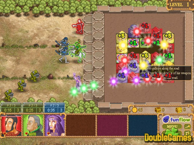 Kostenloser Download King's Guard: A Trio of Heroes Screenshot 1