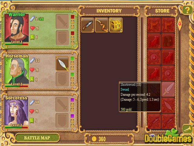 Kostenloser Download King's Guard: A Trio of Heroes Screenshot 2