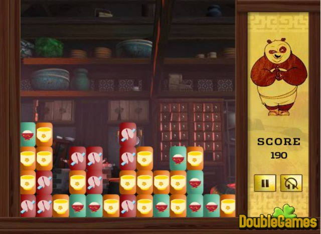 Kostenloser Download Kung Fu Panda Po's Awesome Appetite Screenshot 2
