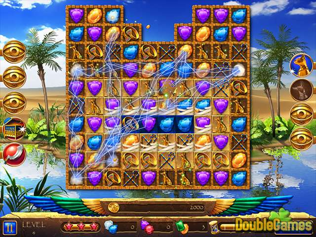 Kostenloser Download Legend of Egypt: Jewels of the Gods 2 - Even More Jewels Screenshot 1