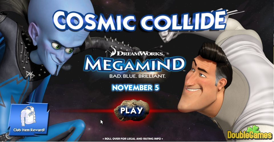 Kostenloser Download Megamind: Cosmic Collide Screenshot 1