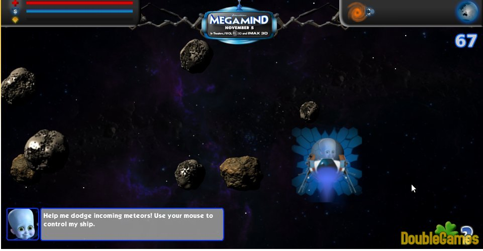 Kostenloser Download Megamind: Cosmic Collide Screenshot 3