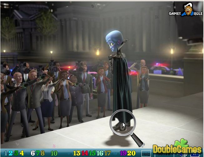 Kostenloser Download Megamind: Hidden Numbers Screenshot 2