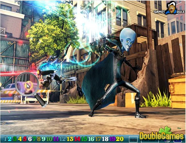 Kostenloser Download Megamind: Hidden Numbers Screenshot 3