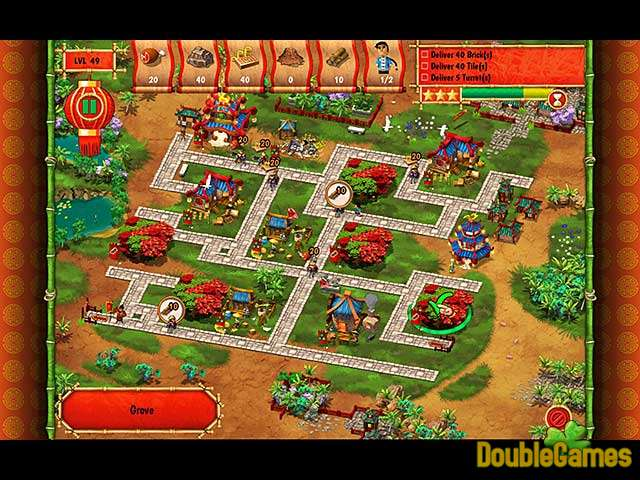 Free Download Monument Builders: Great Wall of China Screenshot 3