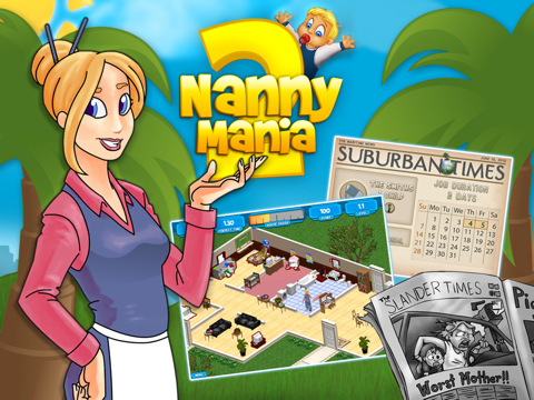Kostenloser Download Nanny Mania 2: Hollywood Screenshot 1