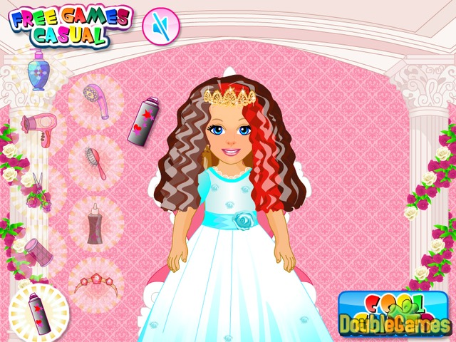 Kostenloser Download Princess and Baby Hairstyle Screenshot 3