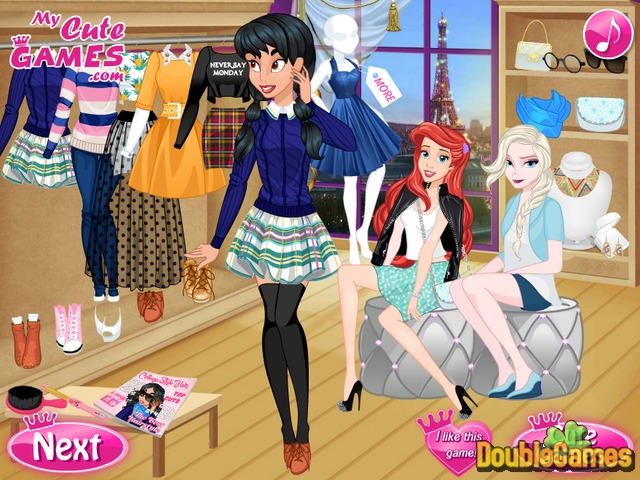 Kostenloser Download Princess: Get Cool For College Screenshot 1
