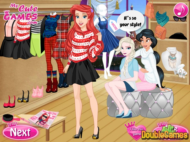 Kostenloser Download Princess: Get Cool For College Screenshot 2