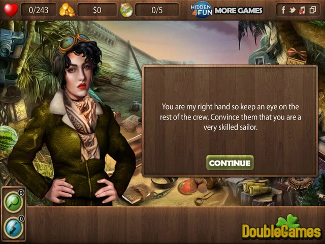 Kostenloser Download Return To Treasure Island Screenshot 2