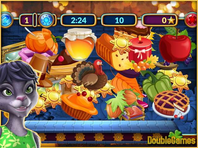Free Download Shopping Clutter 4: Perfect Thanksgiving Screenshot 1