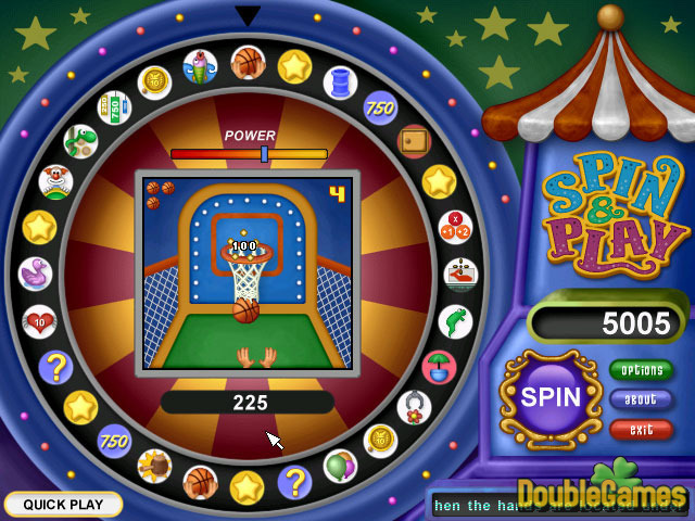 Kostenloser Download Spin & Play Screenshot 1