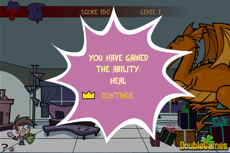 Kostenloser Download The Fairly Odd Parents: Dragon Drop Screenshot 3