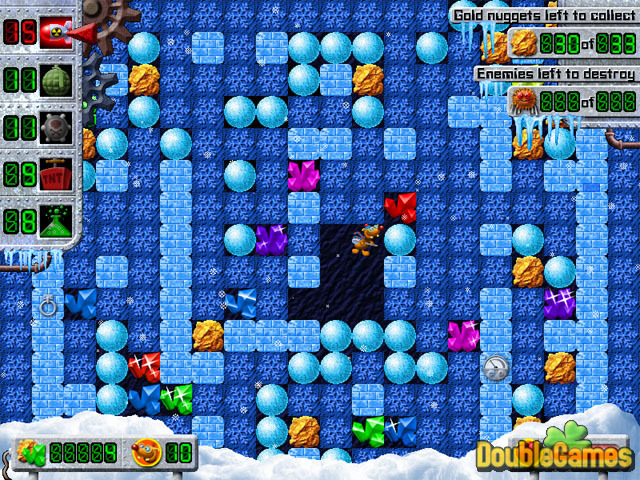 Kostenloser Download Treasure Mole: Winter Vacations Screenshot 2