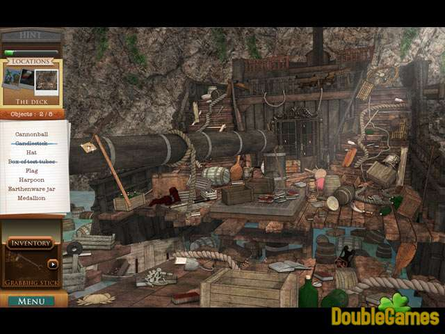 Kostenloser Download Treasure of the Caribbean Seas Screenshot 2