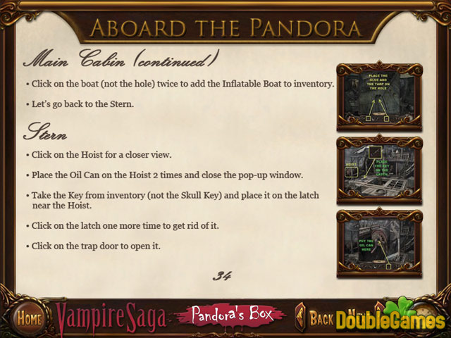 Kostenloser Download Vampire Saga: Pandora's Box Strategy Guide Screenshot 1