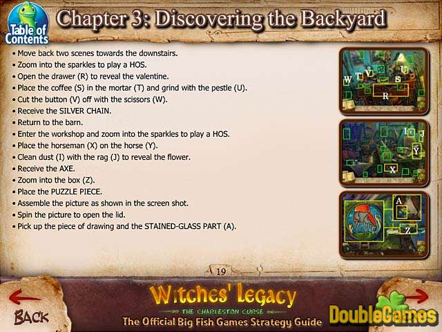 Kostenloser Download Witches' Legacy: The Charleston Curse Strategy Guide Screenshot 1