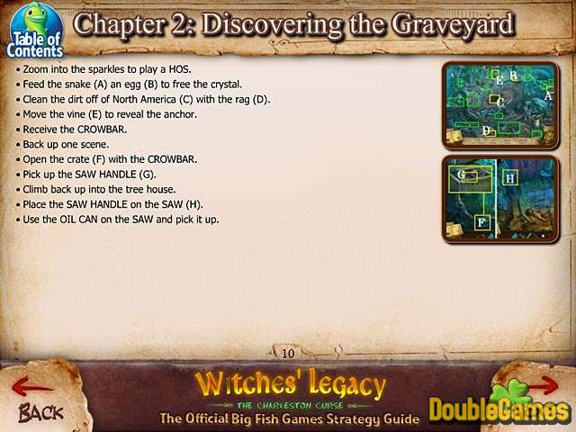Kostenloser Download Witches' Legacy: The Charleston Curse Strategy Guide Screenshot 2