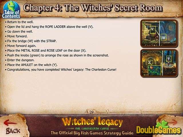 Kostenloser Download Witches' Legacy: The Charleston Curse Strategy Guide Screenshot 3