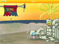 Kostenloser Download SpongeBob SquarePants: Sand Castle Hassle Screenshot 2